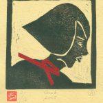 20cm x 16cm - Lino Cut & Collage